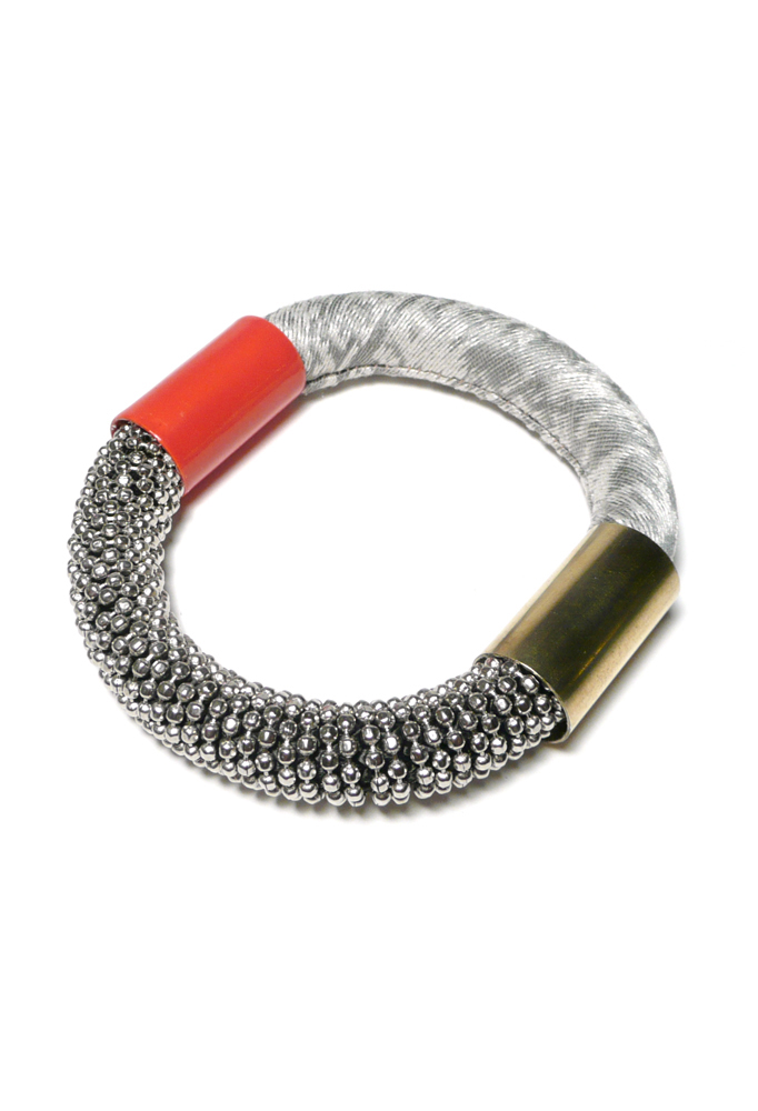 Bangle Bracelet in Knoll Textiles Jewelry Collection by Nektar De Stagni